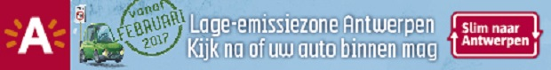 Lage-emissiezone in Antwerpen vanaf 1 februari