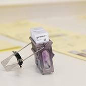 Barcode weefselstaal bij ZNA Anatomo-Pathologie